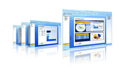 SAP Crystal Reports 2008 screen images