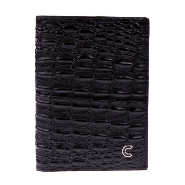 Vertical Wallet Black Calido