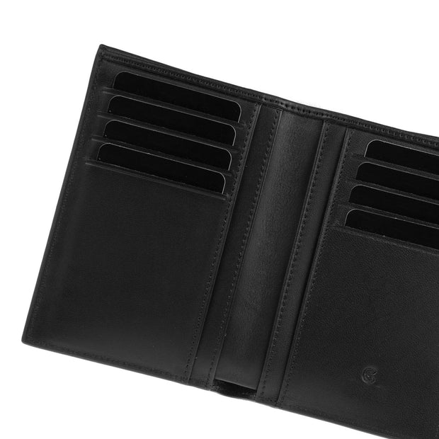 Vertical Wallet Dark Blue Lizard