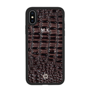 iPhone X / XS Case Brown Calido