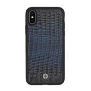 iPhone X / XS Case Dark Blue Lizard
