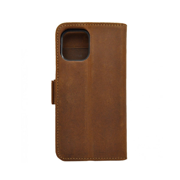 iPhone 11 Magnetic Wallet Case 2 in 1 Brown