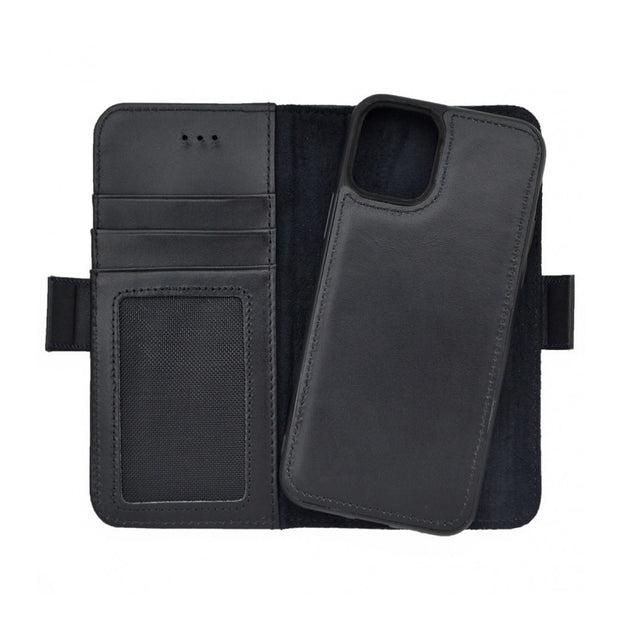iPhone 11 Pro Magnetic Wallet Case 2 in 1 Black
