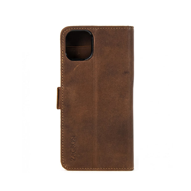iPhone 11 Pro Max Magnetic Wallet Case 2 in 1 Brown