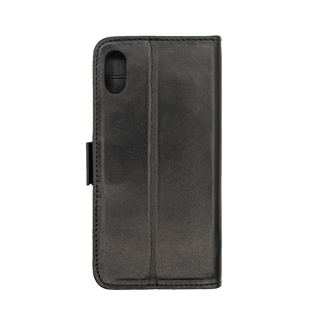iPhone Xs Max Magnetic Wallet Case 2 in 1 Black