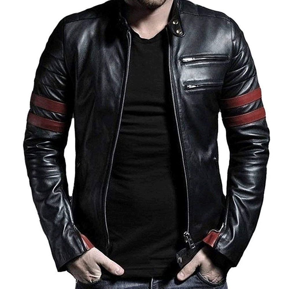 Leather Retail®Wolverine Faux Leather Jacket - Style & Youth