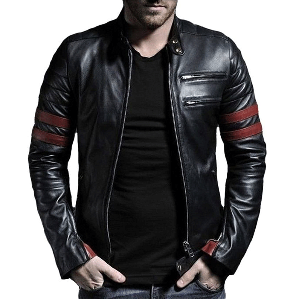 Leather Retail Wolverine Faux Leather Jacket - Style & Youth