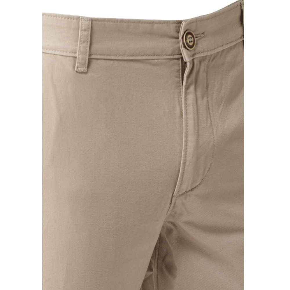 Men Slim Fit Solid Chinos - Style & Youth