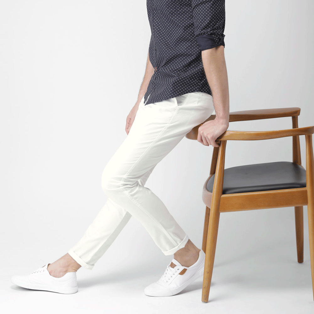 White Chinos for Men - Style & Youth