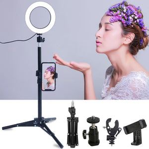 Photographic & Selfie Ring Lighting with Stand