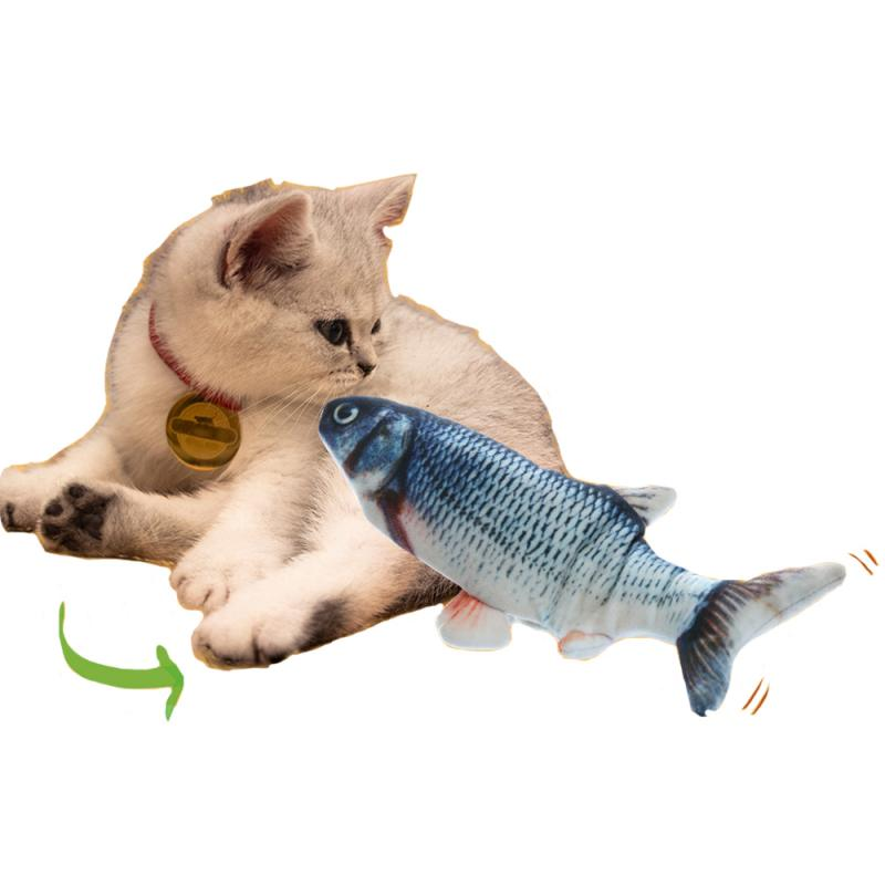 Moving Fish Cat Toys