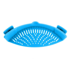 CLIP ON SILICONE FOOD STRAINER
