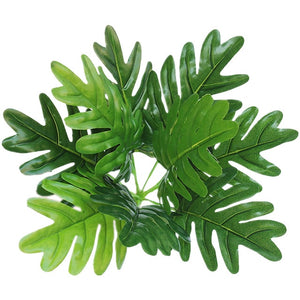 Artificial Plants Green Turtle Leaves