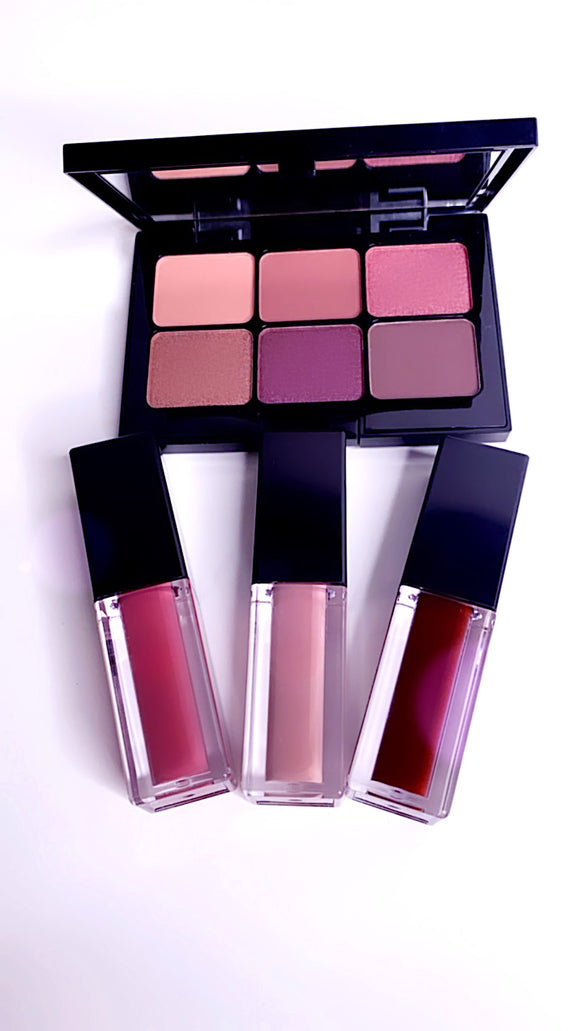 Devine - Eye Shadow & Cream Lipsticks Bundle