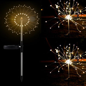Solar Fireworks Luminous Light