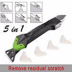 5 in 1 Glass Glue Angle Scraper