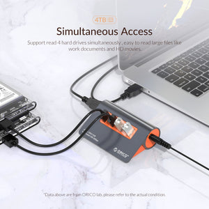 Docking Station | Super Speed USB HUB - simplychamp