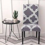 Printed Dining Chair Slipcover