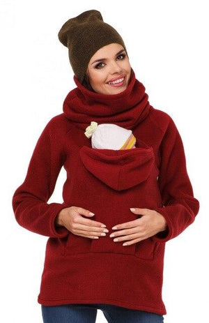 3 In 1 Multi-Functional Mother Kangaroo Sweater