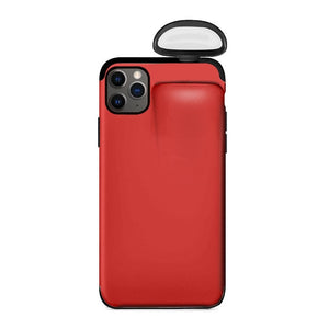 2 in 1 AirPods iPhone case - simplychamp