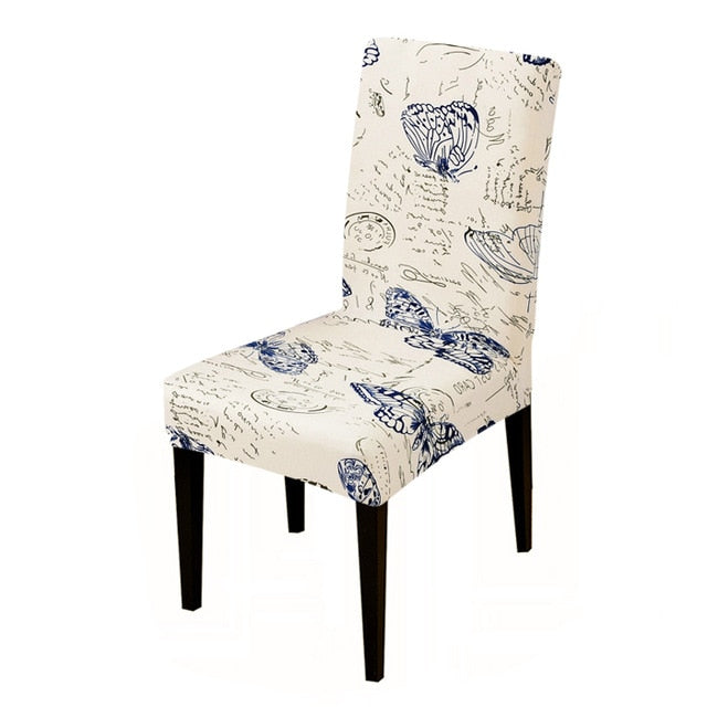 Printed Elastic Chair Cover