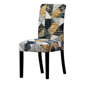 Printed Stretch Chair Cover - simplychamp