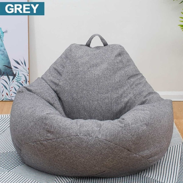 Lazy BeanBag Sofas Cover Chairs without Filler