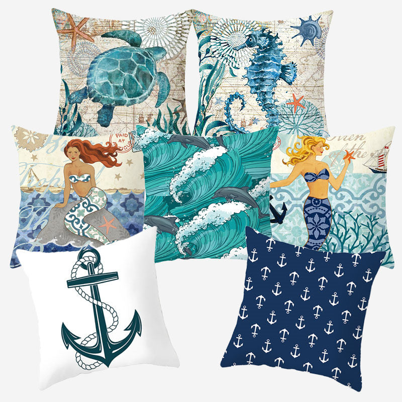 Marine Sea Style Cushion Cover