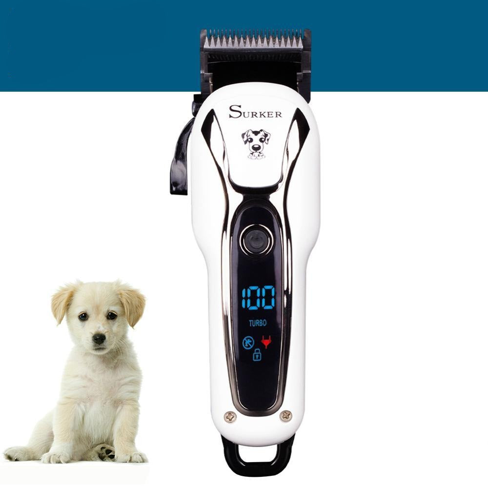 Rechargeable Cordless Clipper Hair Trimmer Pet Grooming kit