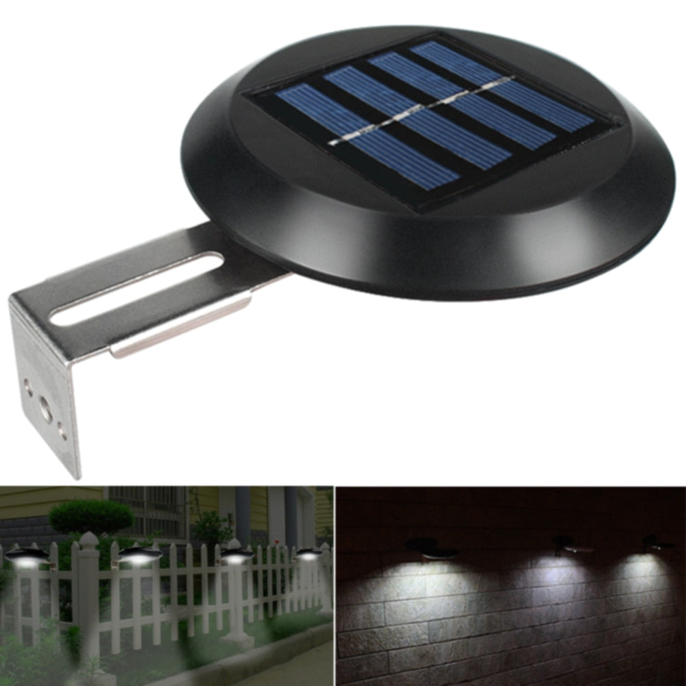 Outdoor Solar Powered Fence Light
