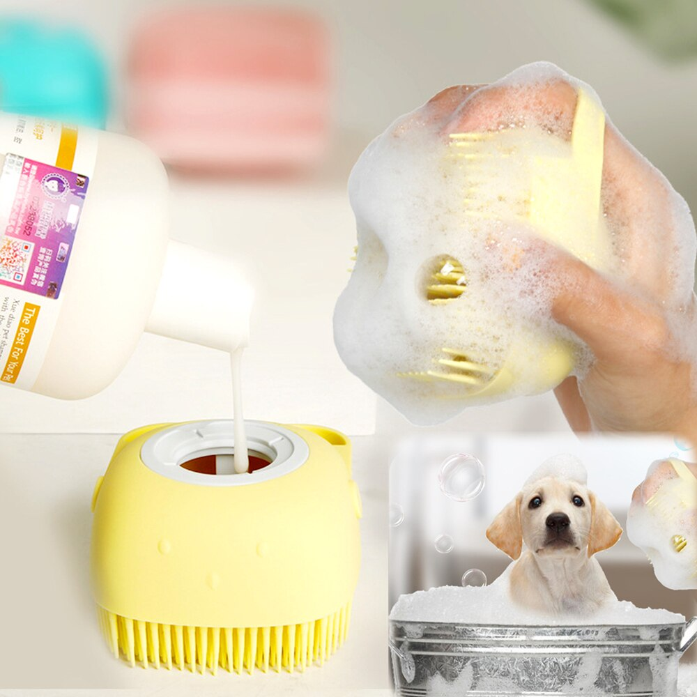 Multifunctional Bath Message Brush