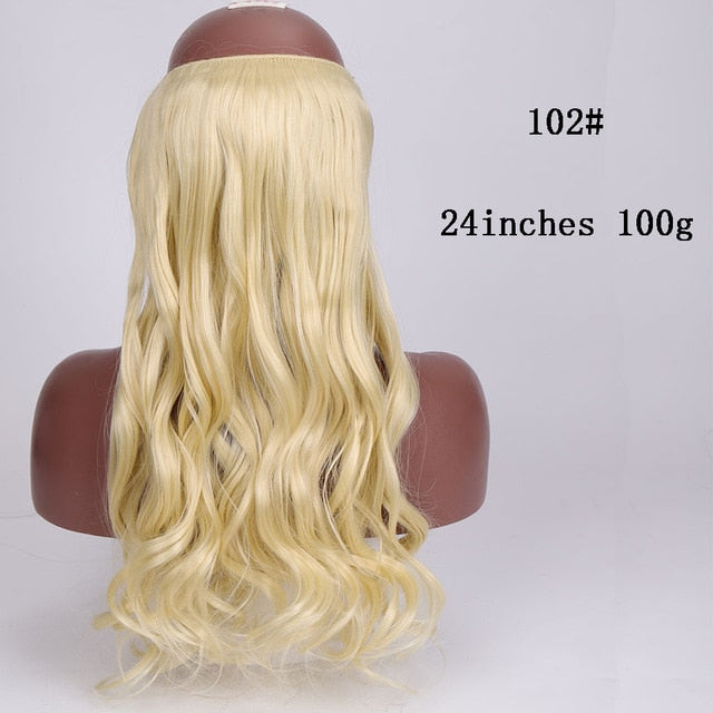 Clips Less Hair Extensions