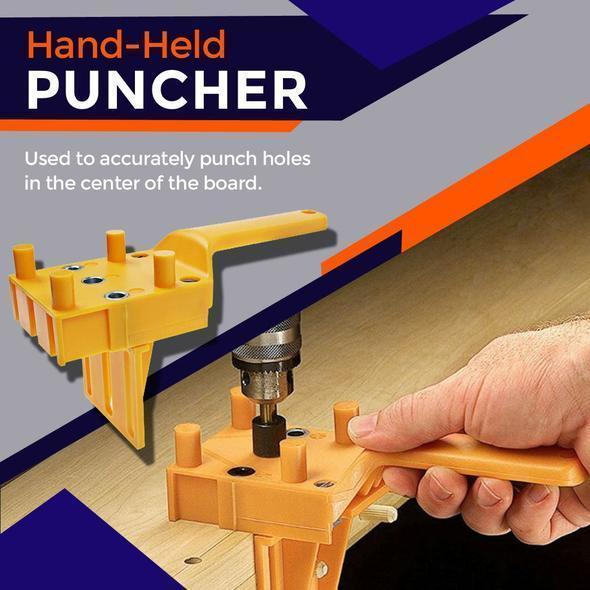 Wood Doweling Hole Drill Guide Tool