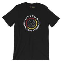 Charger l'image dans la galerie, DARTOIS tee shirt rc lens noir lens fans beer foot friends