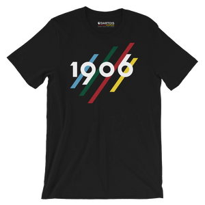 DARTOIS tee shirt rc lens noir 1906-1