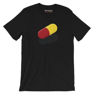 DARTOIS tee shirt rc lens noir pill