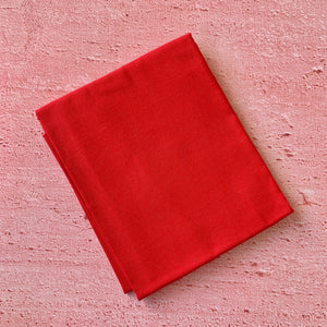 Fat Quarter, Plain Red