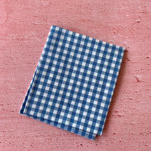 Fat Quarter, Blue Chequered