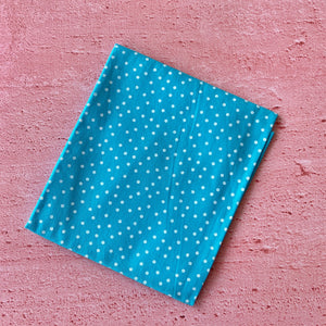 Fat Quarter, Blue and White Spots