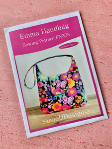 SusieDDesigns Emma Handbag Sewing Pattern