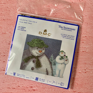 D.M.C.  The Snowman and The Snowdog, Fir Trees, Cross Stitch Kit