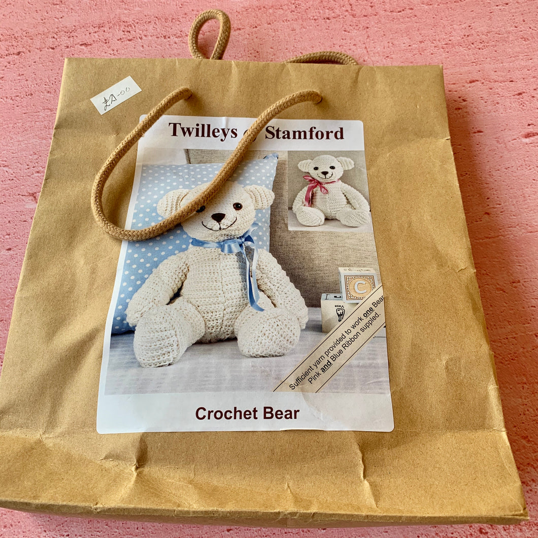 Twilleys of Stamford, Crochet Bear Kit