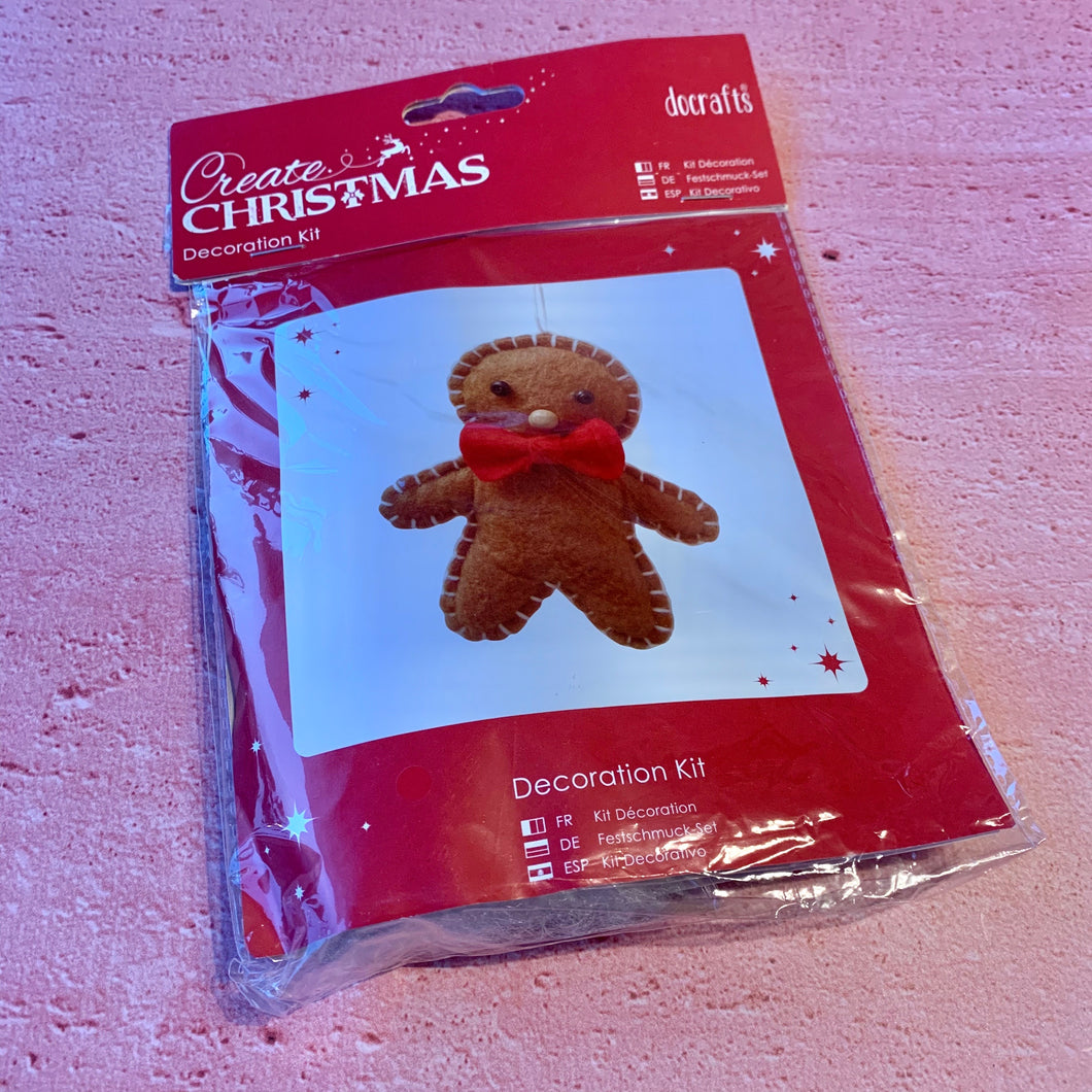 Create Christmas, Decoration Kit, Gingerbread Man.