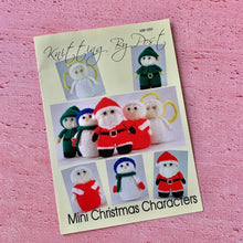 Load image into Gallery viewer, Knitting By Post, Mini Christmas Characters
