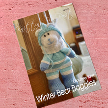 Load image into Gallery viewer, Knitting By Post, Winter Bear Baggles