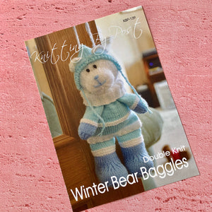 Knitting By Post, Winter Bear Baggles
