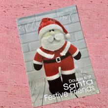 Load image into Gallery viewer, Knitting By Post,  Santa Festive Friends