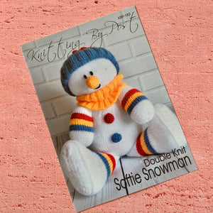 Knitting By Post, Softie Snowman