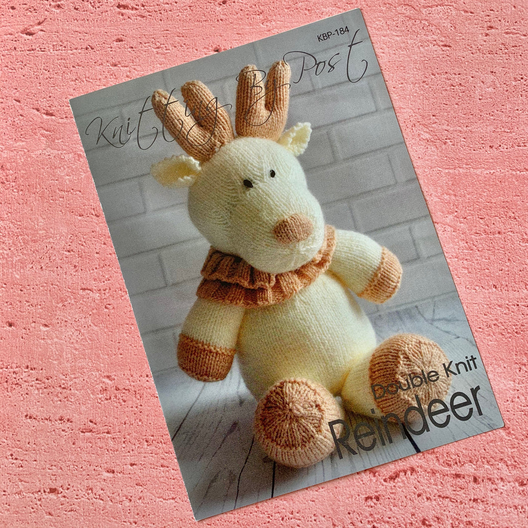 Knitting By Post, Reindeer
