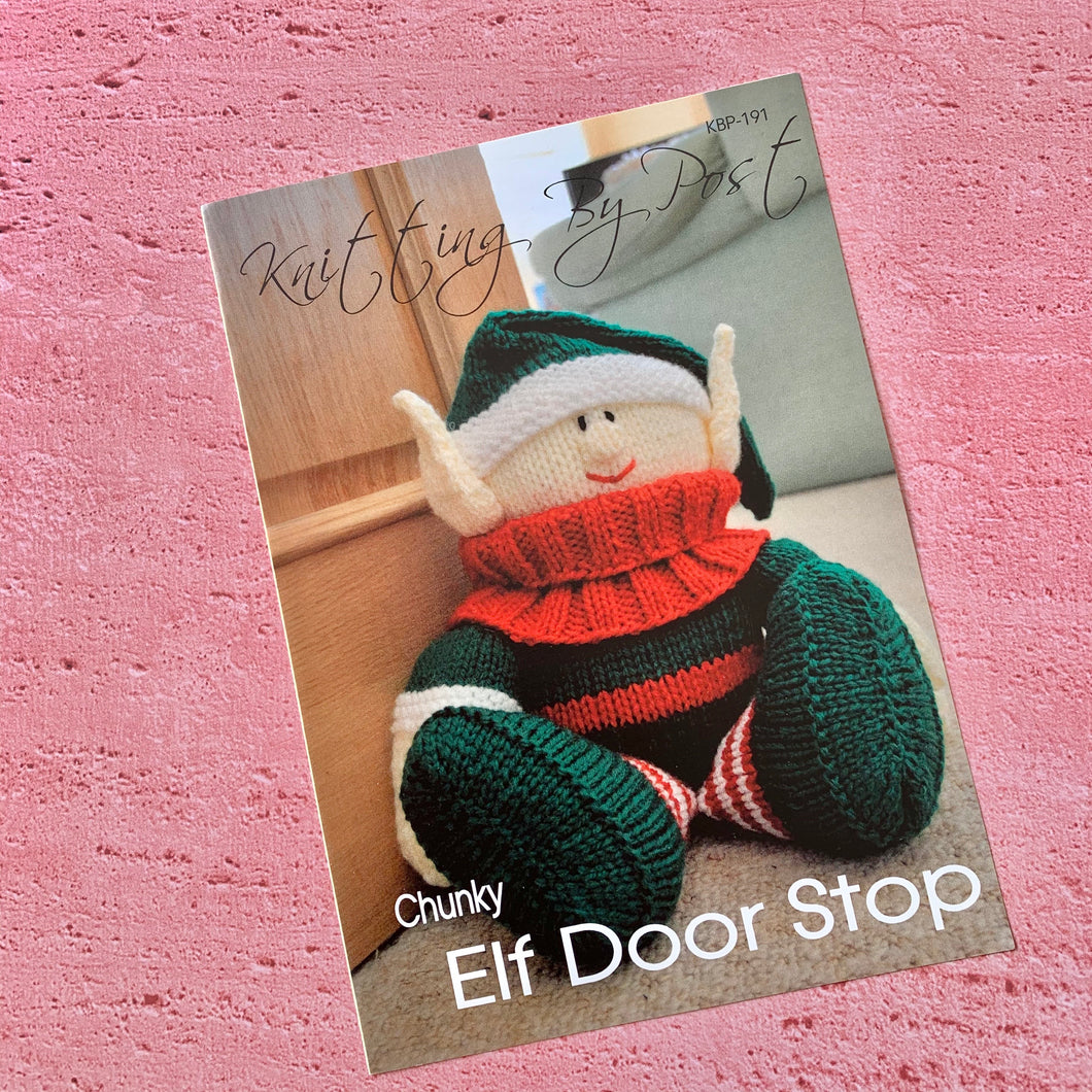 Knitting By Post, Elf Door Stop